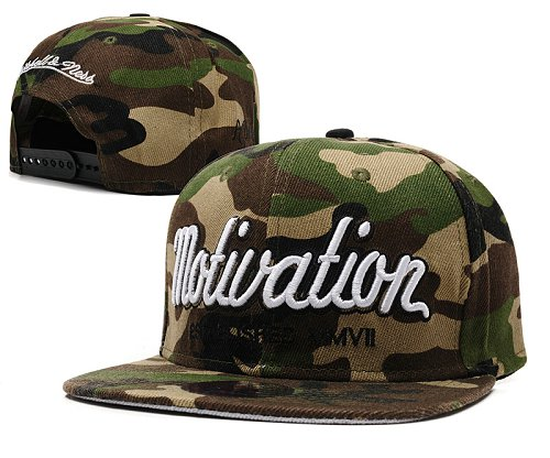 Motivation Snapback Hat SD4