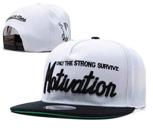 Motivation Snapback Hat SD5