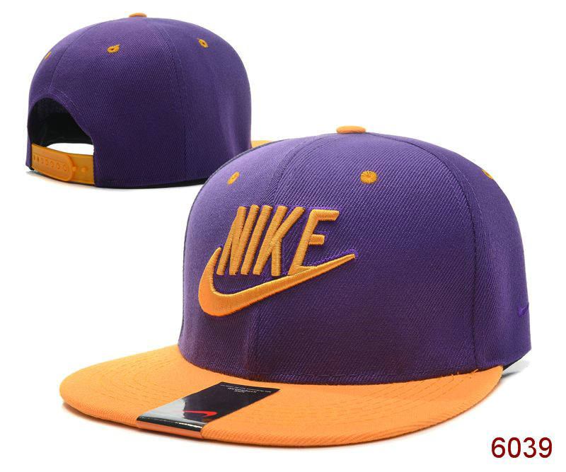 Nike Purple Snapback Hat SG