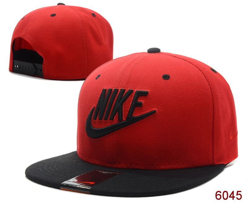 Nike Red Snapback Hat SG 1