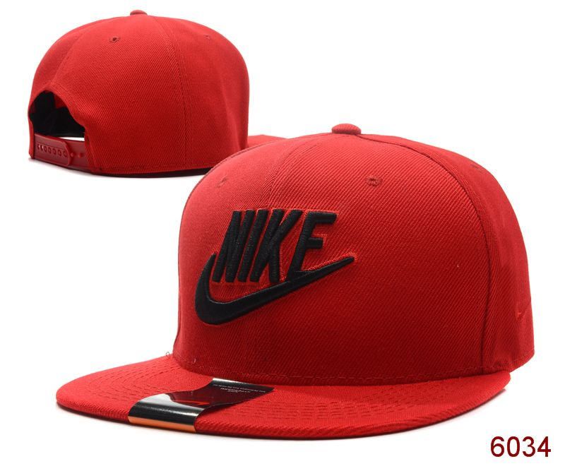 Nike Red Snapback Hat SG