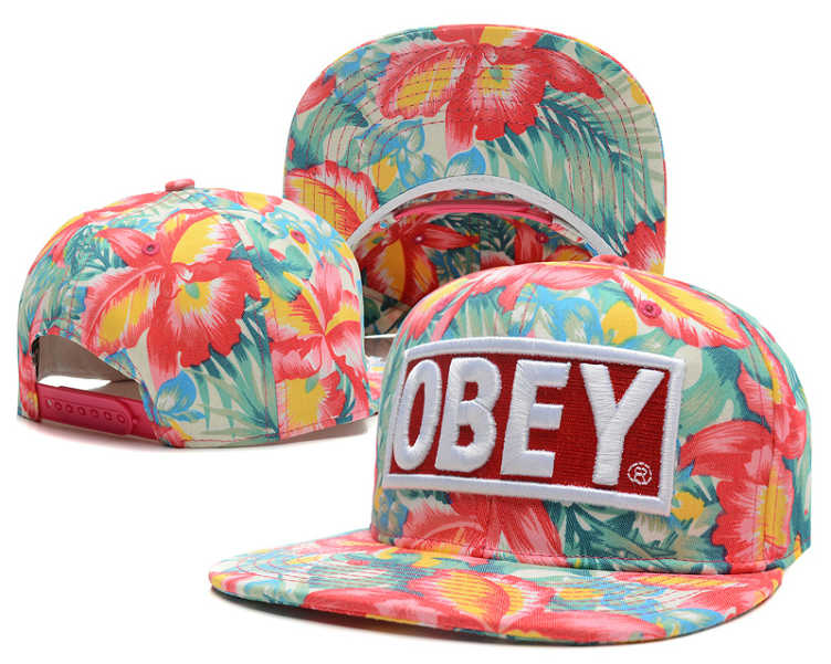OBEY Snapback Hat SD 0512