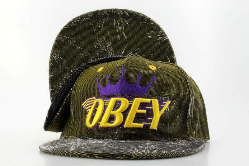 Obey Snapback Hat QH 3 0721