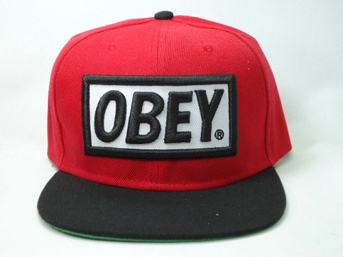 OBEY Snapback Hat SF 08