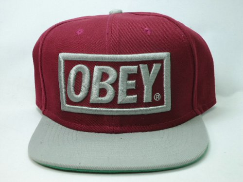 OBEY Snapback Hat SF 12