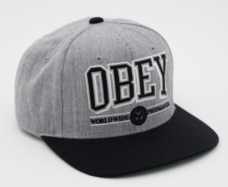 OBEY Snapback Hat SF 15