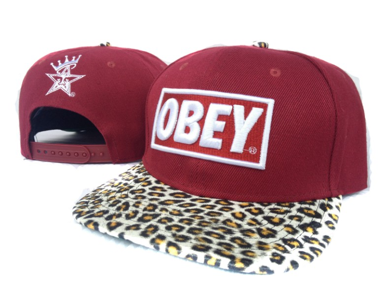 OBEY Snapback Hat SF 37