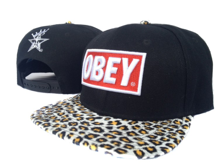 OBEY Snapback Hat SF 44