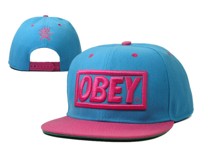 OBEY Snapback Hat SF 49