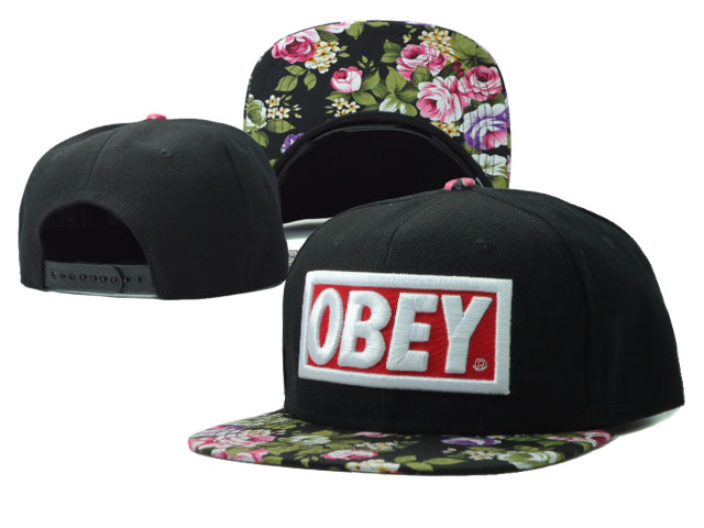 OBEY Snapback Hat SF 52