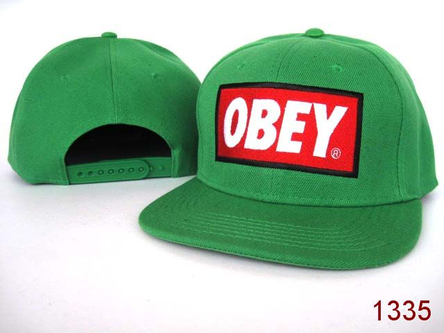OBEY Snapback Hat SG02