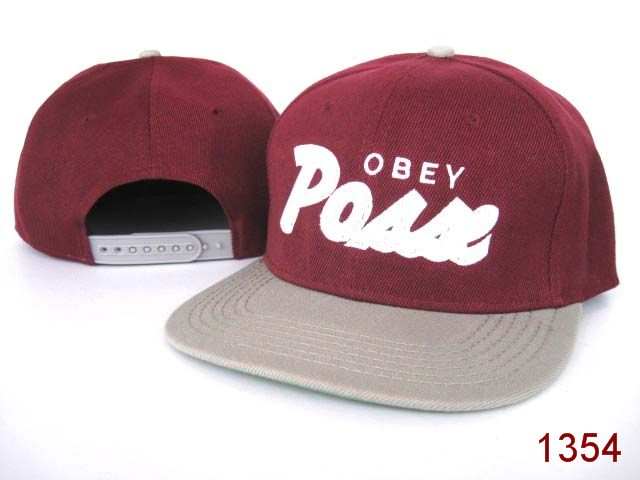 OBEY Snapback Hat SG07