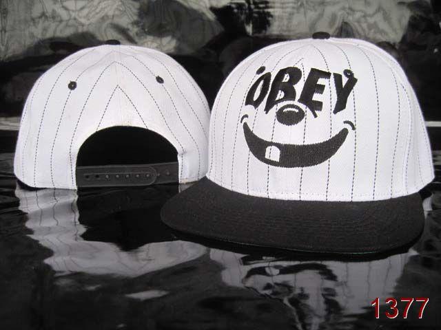 OBEY Snapback Hat SG12