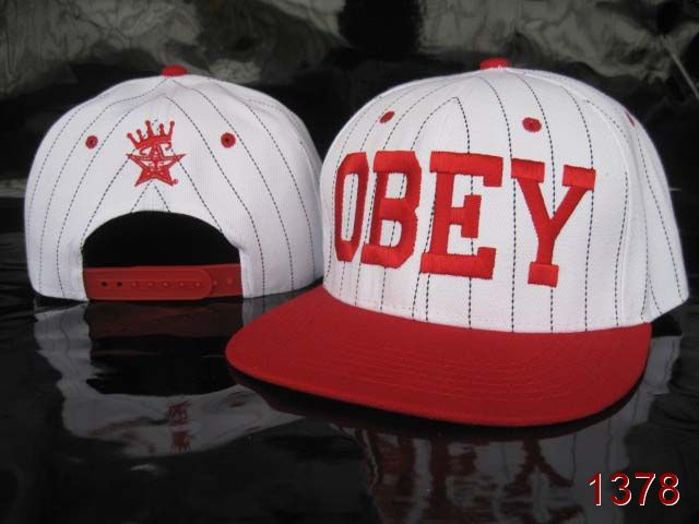 OBEY Snapback Hat SG13
