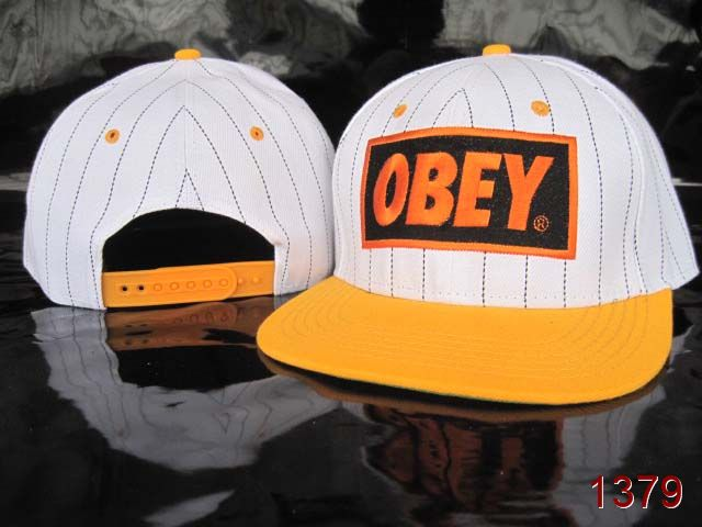 OBEY Snapback Hat SG14