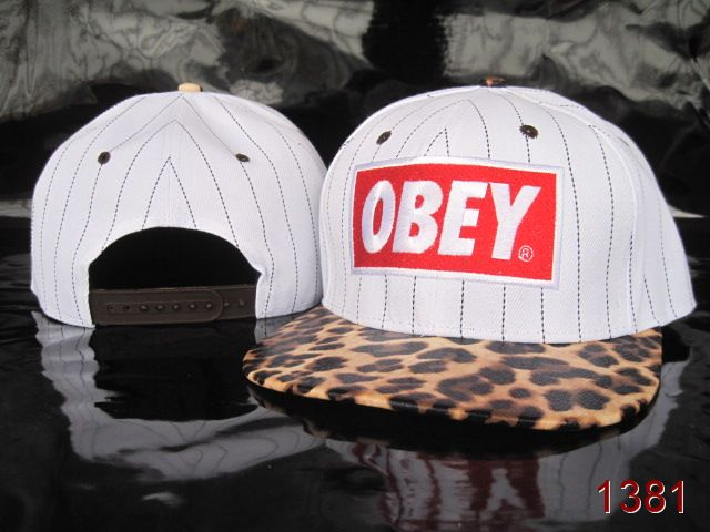 OBEY Snapback Hat SG16