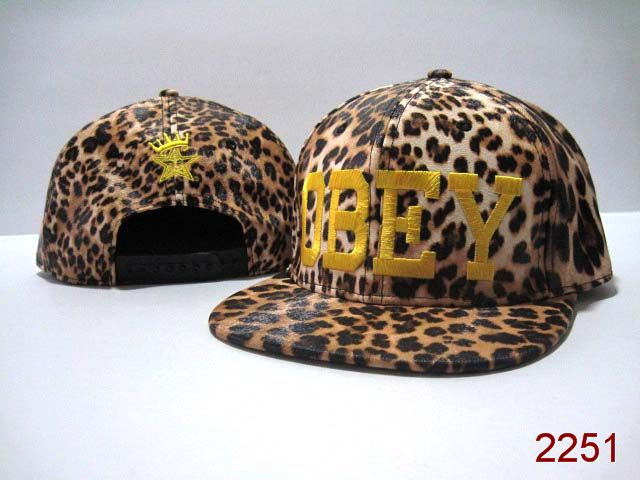 OBEY Snapback Hat SG22