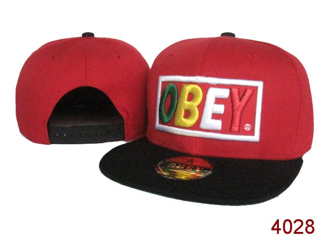 OBEY Snapback Hat SG33