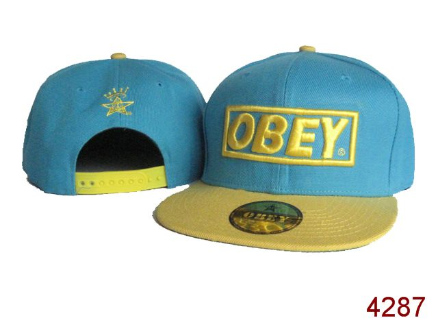 OBEY Snapback Hat SG37