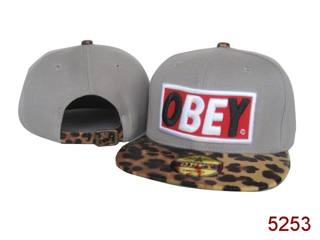 OBEY Snapback Hat SG46
