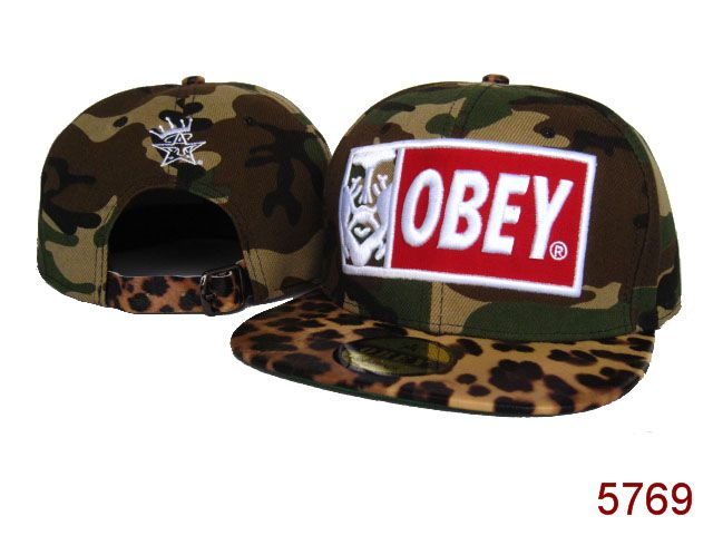 OBEY Snapback Hat SG53