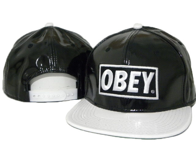 OBEY Snapback leather Hat DD03