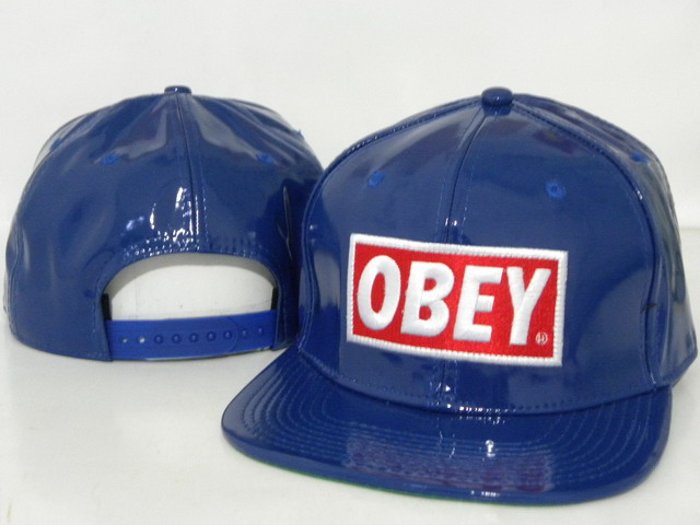 OBEY Snapback leather Hat DD06