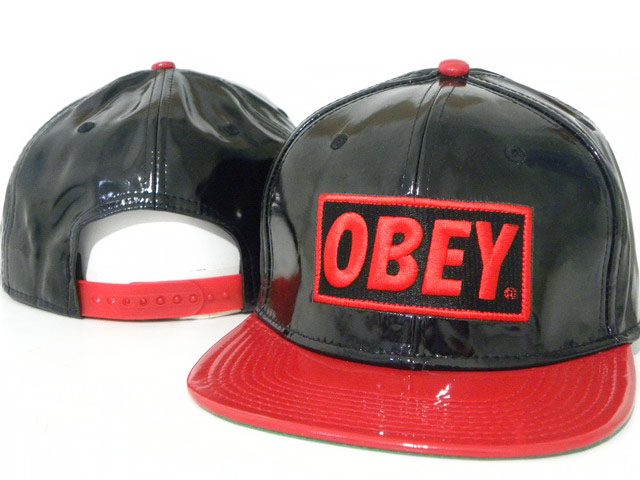 OBEY Snapback leather Hat DD10