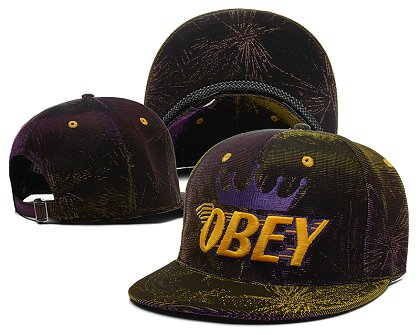 Obey Snapback Hat SG 140802 56
