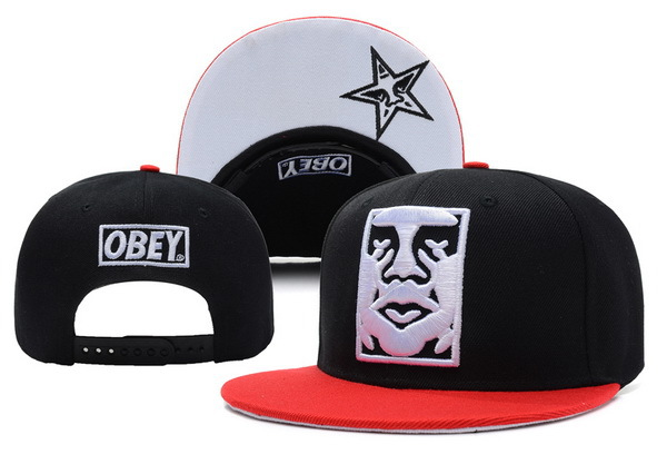 Obey Black Snapbacks Hat XDF 2