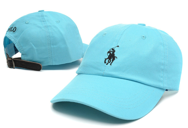 POLO Blue Snapback Hat LX 0528