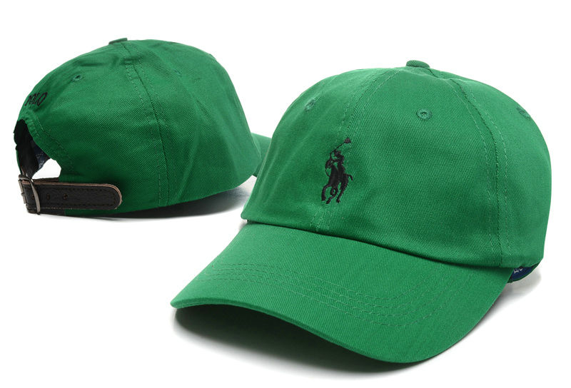 POLO Green Snapback Hat LX 0528
