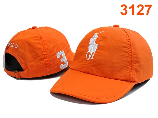 POLO Orange Snapback Hat PT 0528