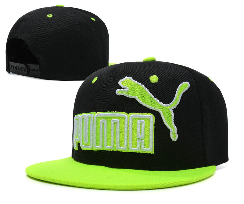 PUMA Black Snapback Hat SD 2