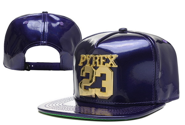 PYREX 23 Purple Snapback Hat XDF 0526