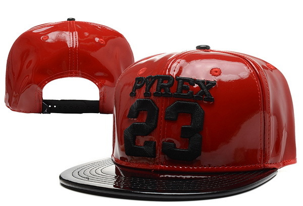 PYREX 23 Red Snapback Hat XDF 0526