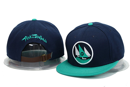 Pink Dolphin Blue Snapbacks Hat YS 0606