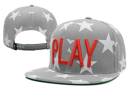 Play Cloths Past Time Snapback Hat XDF gREY
