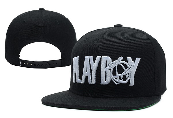 Play Cloths Playboy Snapback Black Hat XDF