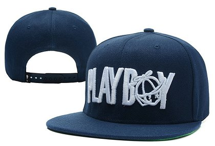 Play Cloths Playboy Snapback Blue Hat XDF