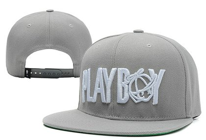 Play Cloths Playboy Snapback Grey Hat XDF