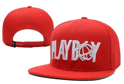 Play Cloths Playboy Snapback Red Hat XDF