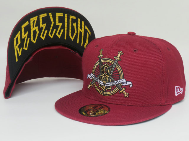 Rebel8 Snapback Hat LS38