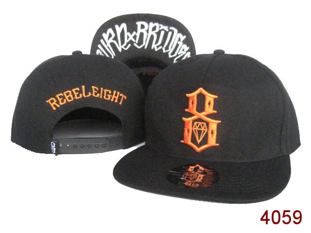 Rebel8 Snapback Hat SG04