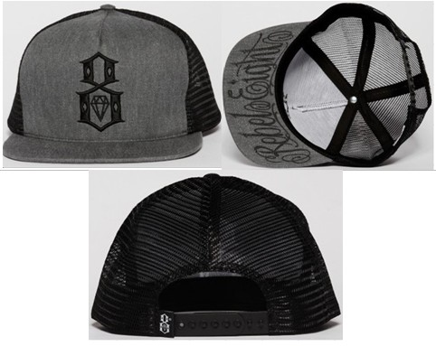 Rebel8 Snapbacks Hat SF 1