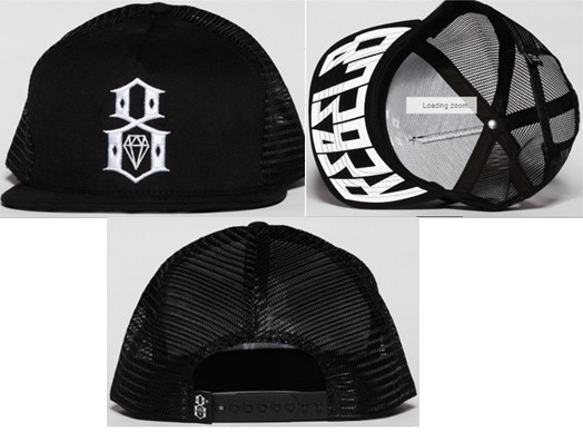 Rebel8 Snapbacks Hat SF 3