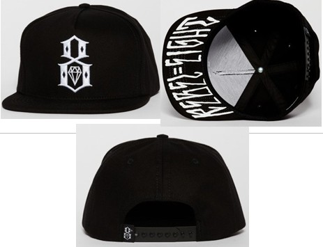 Rebel8 Snapbacks Hat SF 6