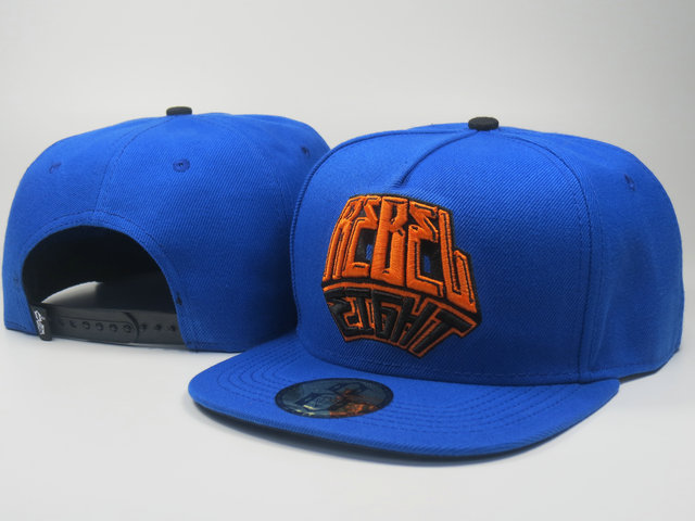Rebel8 Blue Snapback Hat LS