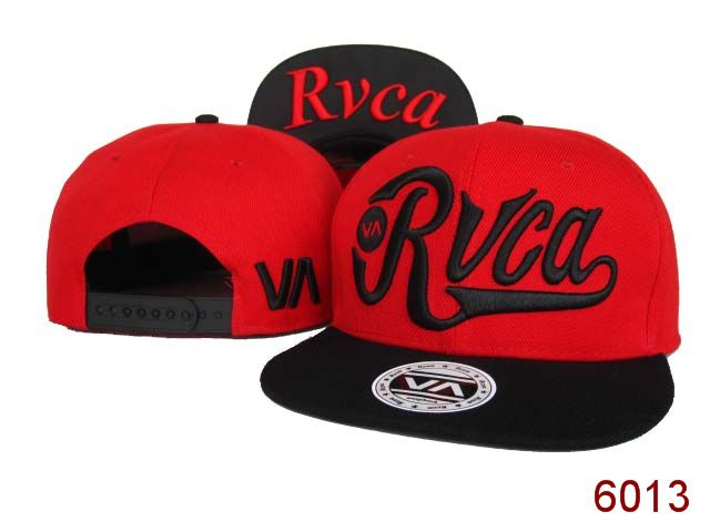 Rvca Red Snapback Hat SG 1