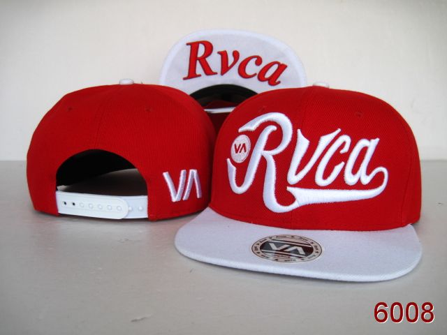 Rvca Red Snapback Hat SG
